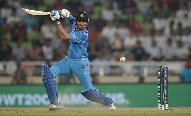 Yuvraj Singh played a sublime innings of 139 off 122 balls. VVS Laxman ably supported him with a fine 106 off 130 balls. Credit: Getty Images