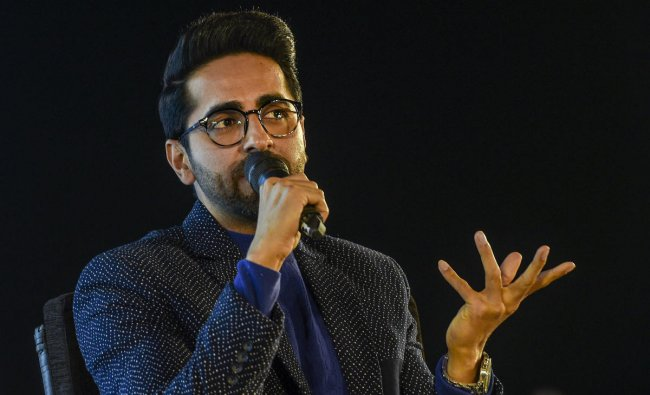 Ayushmann Khurrana has moved up four notches to the sixth rank with valuation of $48 million. Credit: PTI Photo