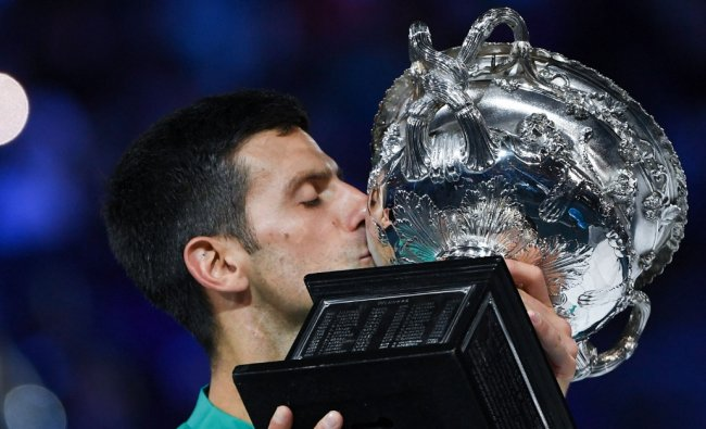 This Australian Open win is also Djokovic's third consecutive victory. He is the only player in history to win 3 or more consecutive slams twice in his career (2011-2013 and 2019-2021). Credit: AFP Photo