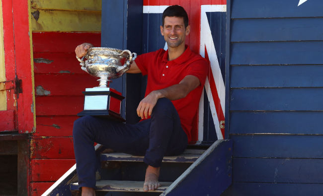 With his latest Australian Open victory, Djokovic has the most wins in the tournament on the men's side. He surpassed the old record of 6 Australian Open titles by Roy Emerson. Credit: AFP Photo