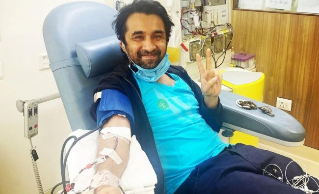 Siddhanth Kapoor has donated his plasma after recovering from Covid-19 and has urged other coronavirus survivors to do the same. Credit Instagram/@siddhanthkapoor