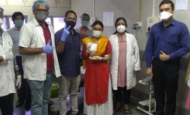Bollywood actress Zoa Morani who was recovered from Covid-19 has donated plasma twice. Credit Instagram/@zoamorani
