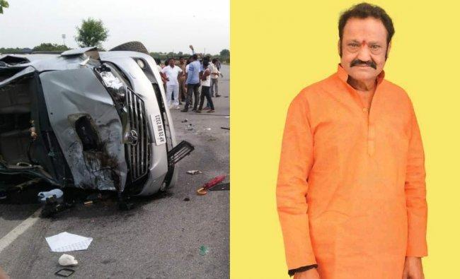 Actor and politician Nandamuri Harikrishna, 61, died in a road accident near Narketpalle in Telangana on August 29, 2018. Credit: Instagram/nandamuriharikrishna