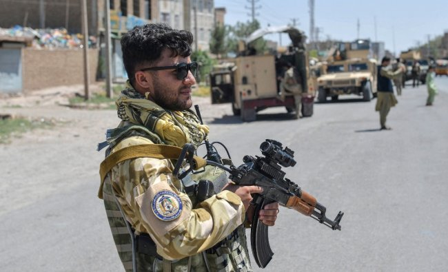Trained by US Green Berets and equipped with state-of-the-art gear, the Afghan army's special forces are the frontline weapon against the Taliban, but reduced American military support has stretched them to breaking point. Credit: AFP Photo