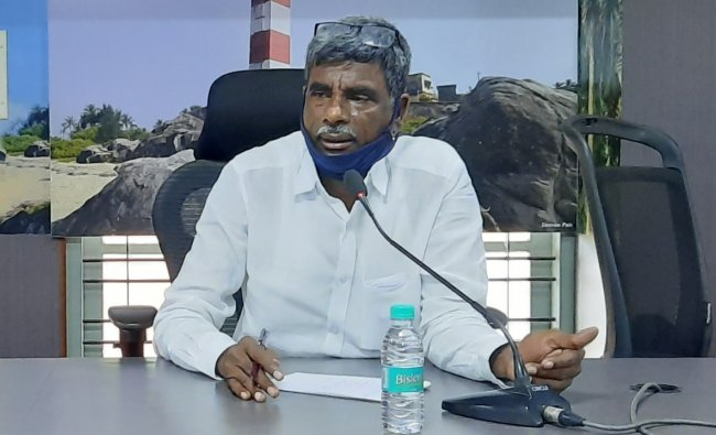 Kota Shrinivas Poojari - Social Welfare, Backward Classes Welfare ministries. Credit: DH Photo