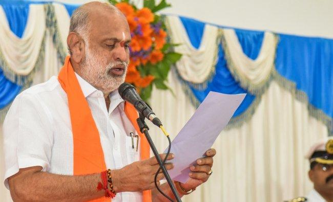 Arabail Hebbar Shivaram - Labour ministry. Credit: DH Photo