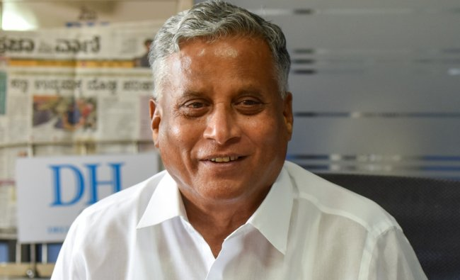 V Somanna - Housing and Infrastructure Development ministry. Credit: DH Photo