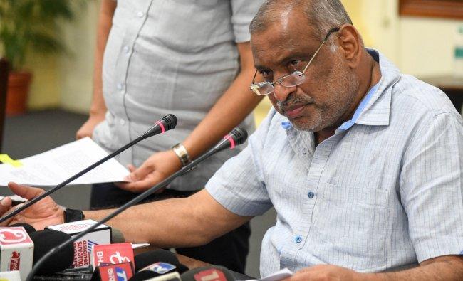 JC Madhu Swamy - Minor Irrigation, Law, Parliamentary Affairs and Legislation ministries. Credit: DH Photo