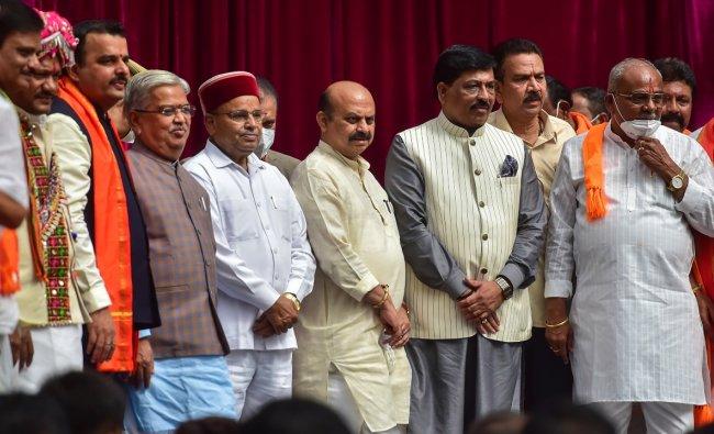 In Pics: Karnataka Cabinet ministers & their portfolios