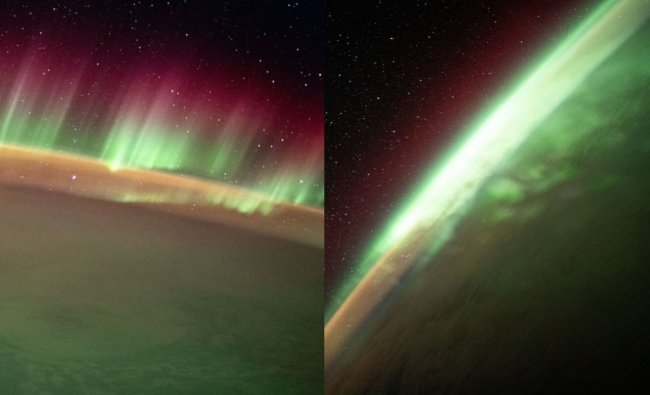 Stunning views of Aurora Australis captured by International Space Station