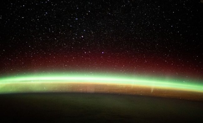 The post is making waves on social media and was well received by the netizens for the breathtaking views. The Aurora Borealis and the Aurora Australis occur when charged electrons and protons in the earth\'s magnetic field collide with neutral atoms in the upper atmosphere. Credit: Instagram/ISS