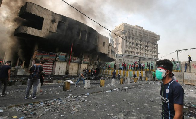 Iraq ranks tenth on the list with an average PM2.5 concentration of 39.60. Credit: AFP Photo