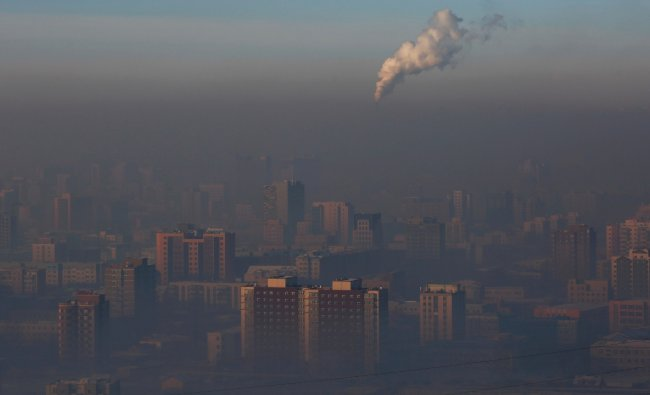 The third most polluted country is Mongolia with an average PM2.5 concentration of 62.00. Credit: AFP Photo