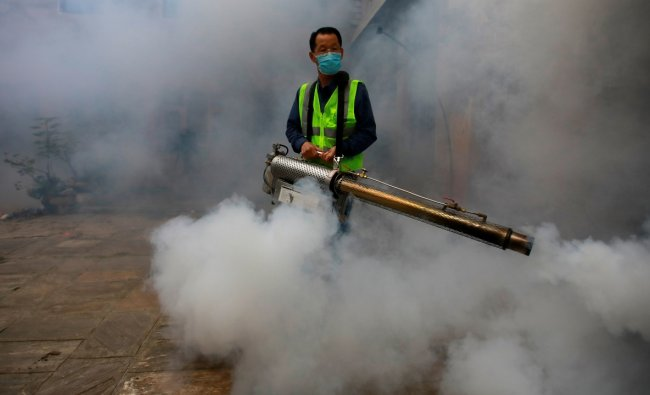 With an average of 44.46 of PM2.5 concentration, Nepal is the eighth most polluted country in the world. Credit: Reuters Photo