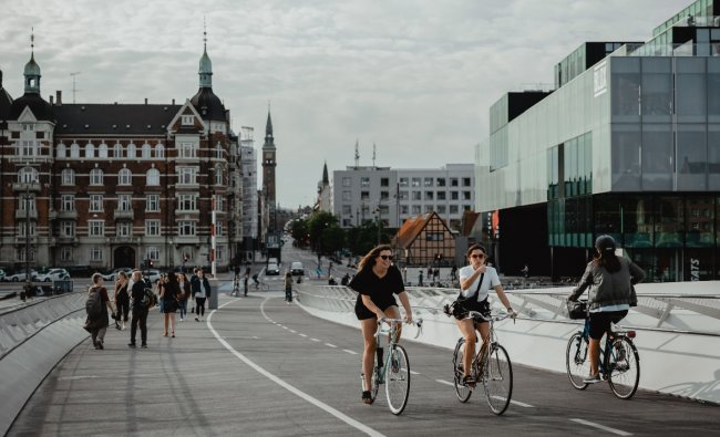 Denmark: The cleanest and most environmentally-friendly country in the world is Denmark. The country's EPI score is 82.5, standing out for high air quality scores and the biodiversity and habitat category. Credit: Unsplash/Febiyan