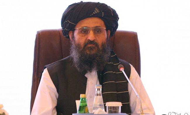 Afghan\'s political and religious leader Mullah Abdul Ghani Baradar. Credit: AFP Photo