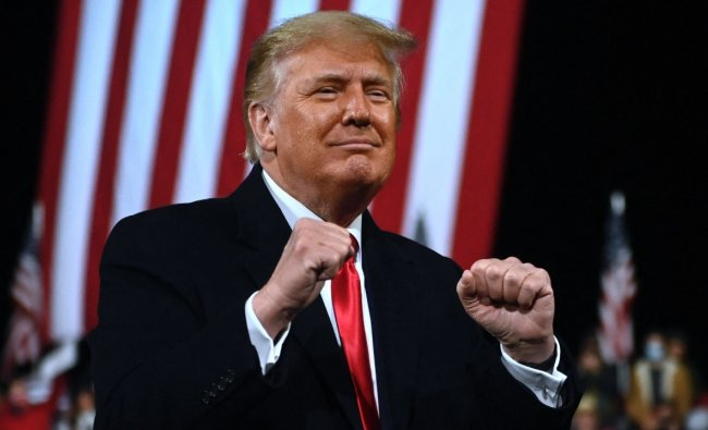 45th US President Donald Trump. Credit: AFP Photo