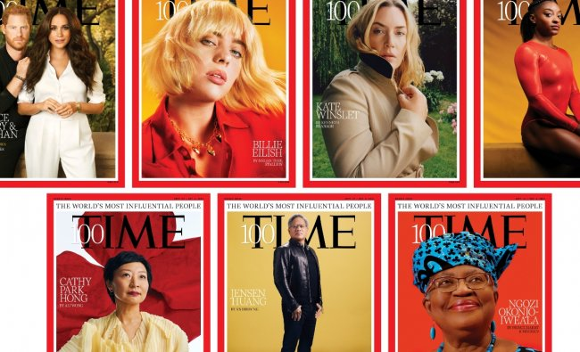 In Pics | TIME 100: Top 10 Most Influential People of 2021