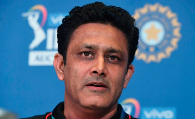 Anil Kumble: The Punjab Kings head coach is another candidate in contention to succeed Ravi Shastri, having helmed the Indian cricket team before him. His one-year stint that began in 2016 ended after a fall-out with skipper Virat Kohli. Credit: AFP File Photo