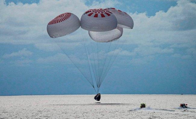 In Pics: SpaceX capsule\'s first all-civilian orbital crew return