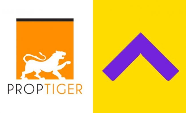 PropTiger.com – Housing.com: India's leading online real estate service provider, Housing.com joined hands with fellow competitor PropTiger.com in 2017. This merger raised the valuation of the new entity to close to $270-285 million. Credit: Twitter/@proptiger & @Housing