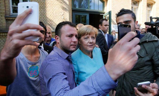 The chancellor\'s momentous decision on September 4, 2015, to keep Germany\'s borders open to people fleeing wars in Iraq and Syria left a mark not only on European migration policies, but also arguably sparked a resurgence of the far-right in Germany. Credit: Reuters Photo