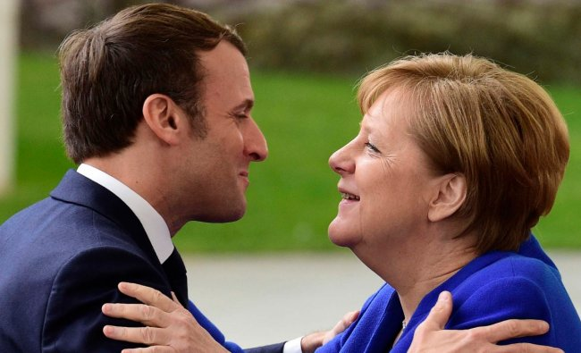 However, the dogma was smashed by the coronavirus pandemic, which saw Merkel making an extraordinary U-turn to incur huge debts to fund Germany\'s exit from the crisis. More remarkably, she and France\'s Emmanuel Macron spearheaded the 800-billion-euro ($950bn) EU recovery fund, which sees the European Commission raising money by issuing bonds on behalf of the entire 27-member bloc. Credit: AP Photo