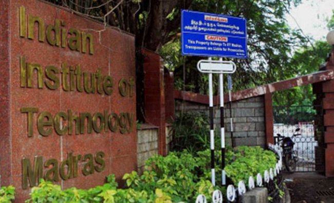 Third on the list is IIT Madras, which ranks in the 151-60 category. Credit: PTI Photo