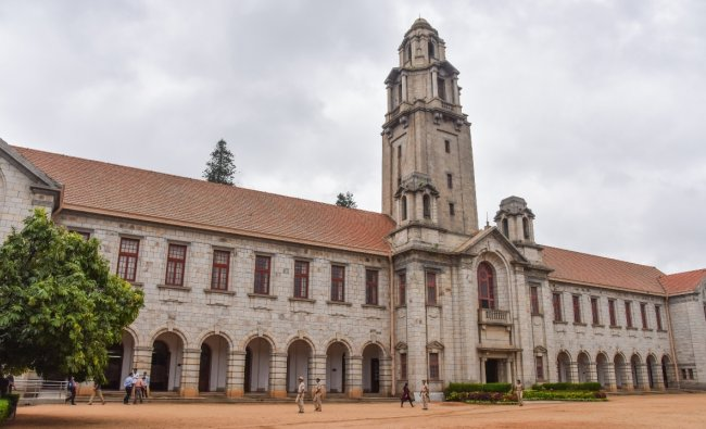 IISc Bengaluru ranks in the 301-500 category. Credit: DH/SK Dinesh