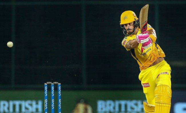 Rank 2 | Faf du Plessis (Chennai Super Kings) | Matches: 16 | Runs: 633 | Highest: 95* | Average: 42.07 | Strike Rate: 137.09 | Credit: PTI/Sportzpics
