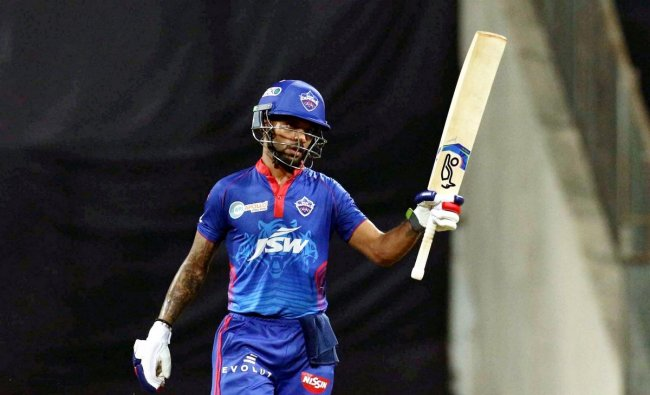 Rank 4 | Shikhar Dhawan (Delhi Capitals) | Matches: 16 | Runs: 587 | Highest: 92 | Average: 39.13 | Strike Rate: 124.62 | Credit: PTI/Sportzpics