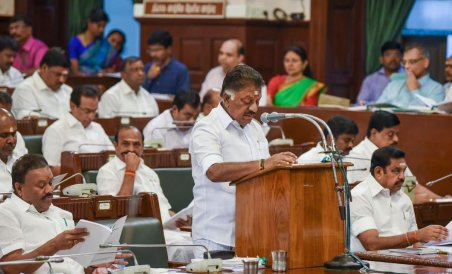 Tamil Nadu Finance Minister O Panneerselvam Presents Populist Budget Deccan Herald
