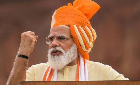 Independence Day Speech Pm Modi Warns China Over Border Tensions Deccan Herald