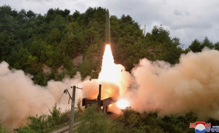 North Korea says it tested rail-launched ballistic missiles | Deccan Herald