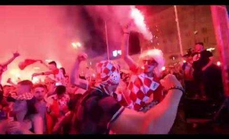 Croatia explodes with joy as team heads to semis