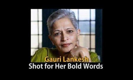 Gauri Lankesh: Shot for Her Bold Words