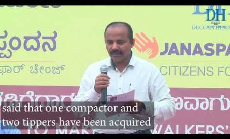 Lalbagh walkers discuss civic issues at Janaspandana