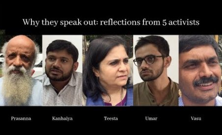 Why Activists Speak Out