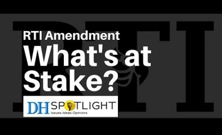 RTI amendment: What's at stake?