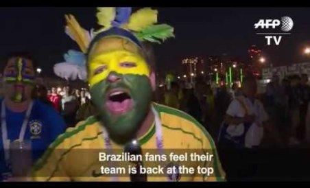 Brazil fans rejoice - 'The whole squad is back!'