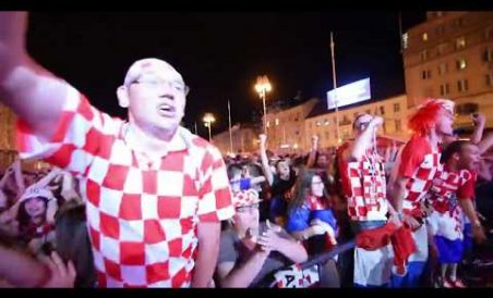 Croatia fans taste sweet victory after Danish pasting