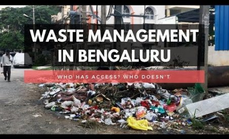 Who has access to waste management?