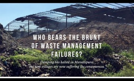 Who bears the brunt of waste management failures?