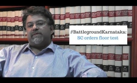 #BattlegroundKarnataka: SC Orders Floor Test