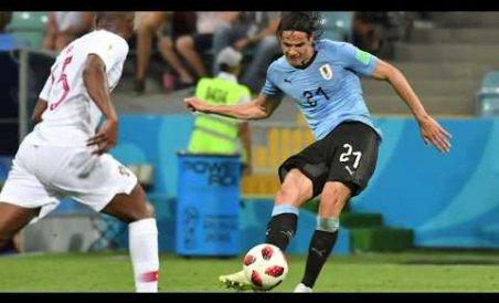 Cavani fires Uruguay into last 8 as Ronaldo dream ends