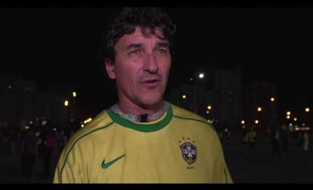 Elated vs deflated: Belgium and Brazil fans at odds