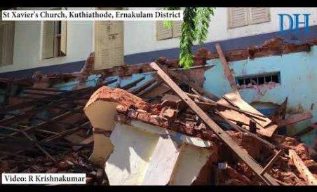 Church Collapses in Ernakulam
