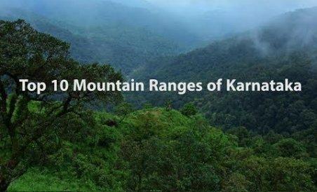 Top 10 Mountain Ranges of Karnataka