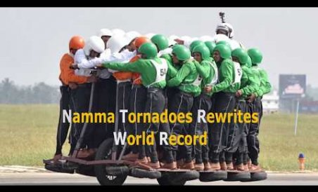 Namma Tornadoes Rewrites World Record