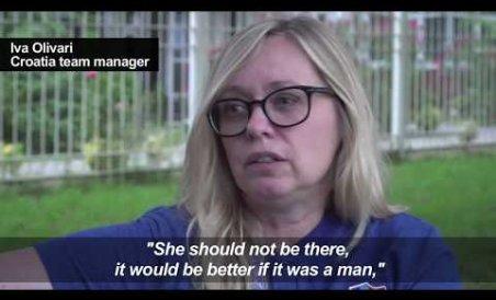 Croatia's pioneering first female manager Iva Olivari